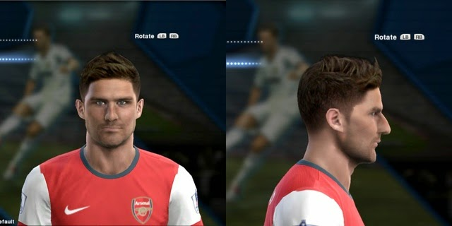 PES 2013 Giroud & Balotelli Face by EREKLE JR