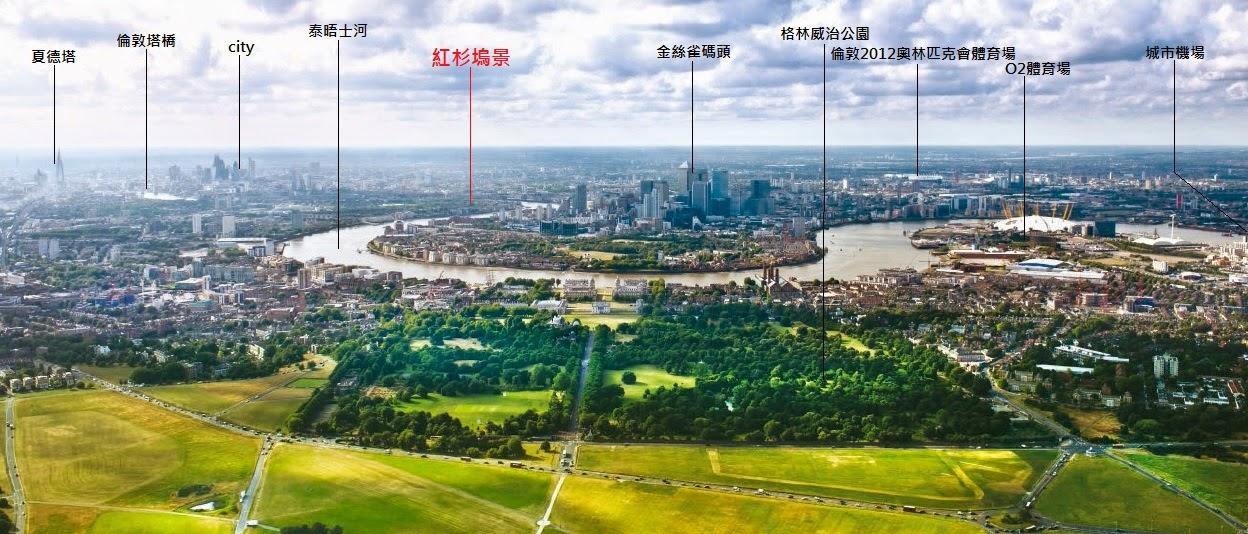 倫敦房地產包租方案-紅杉塢景地圖