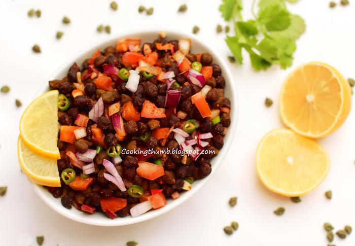 Green Chana Chaat (Green Chickpea Salad)