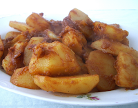 Batatas Braseadas com Especiarias (vegana)