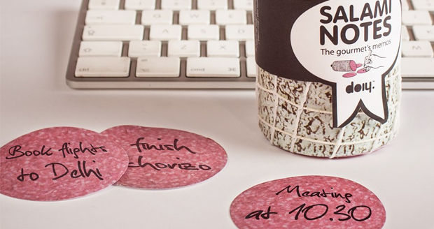 Salami Post it Notes
