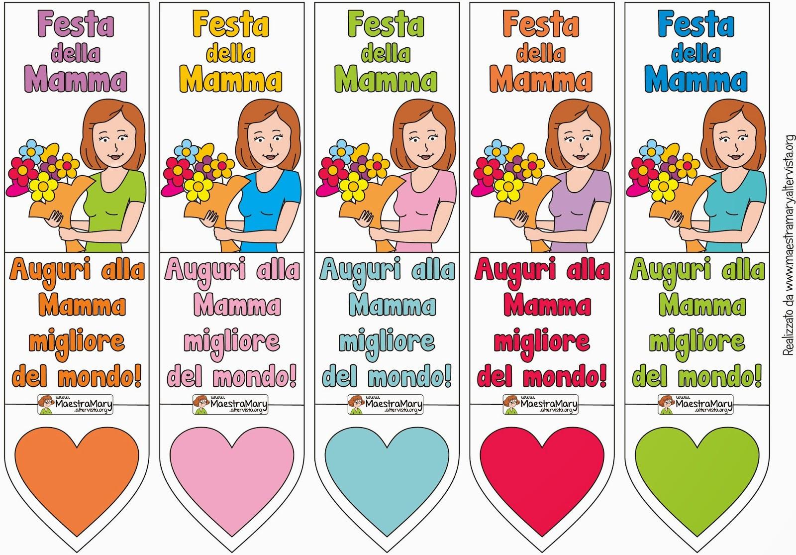 Favoloso Festa della mamma - Idee per Lavoretti ~ Facciamo festa insieme XD71