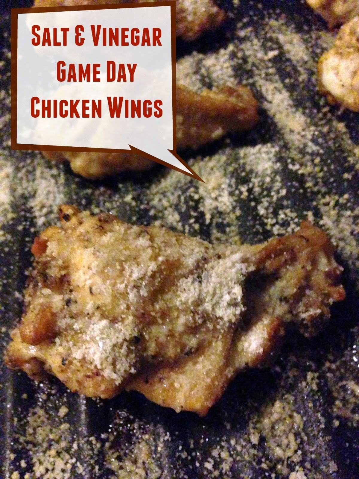 Salt and Vinegar Game Day Chicken Wings