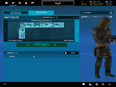 Ghost Recon Online - Markov Station Map Lobby
