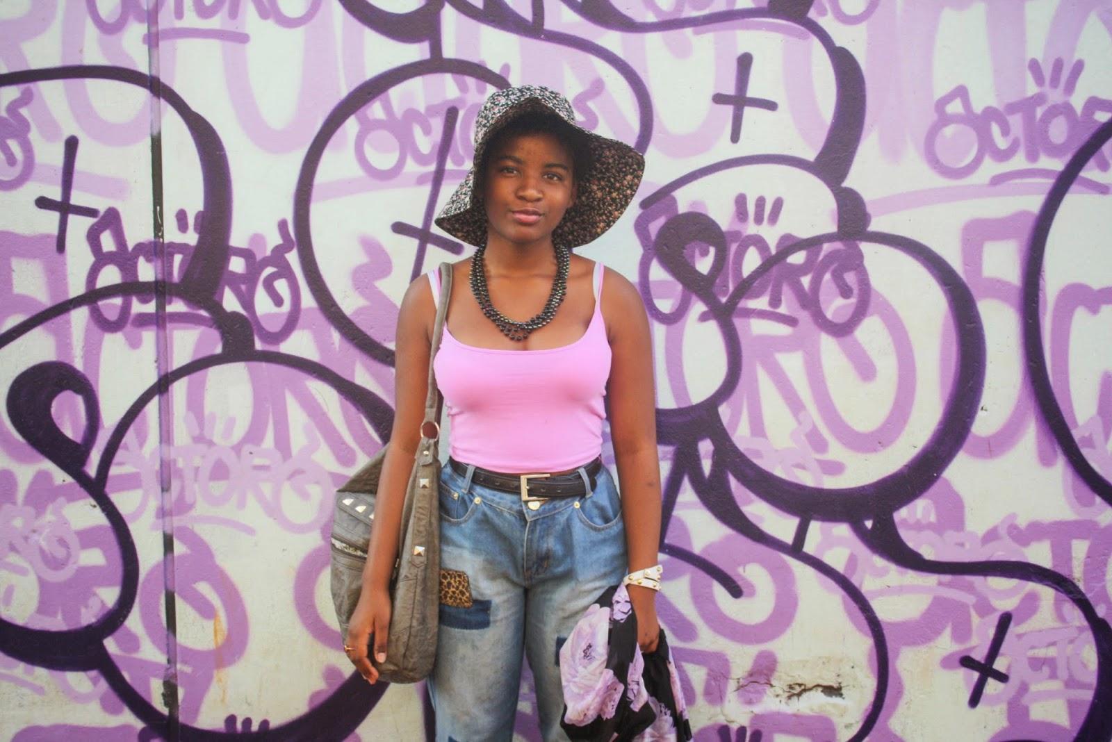 graffit wall on fox street, maboneng