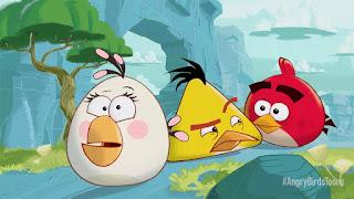 gambar kartun angry birds