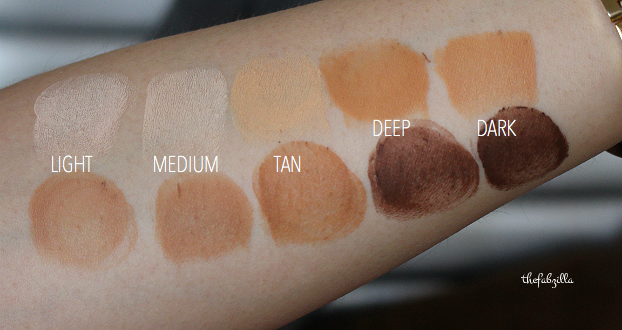 pur cameo contour, review, swatch, how to contour and highlight