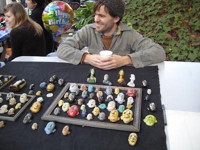 Ben Belknap ceramic art
