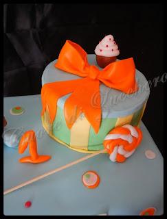 torta baby topolino per il 1° compleanno di dario