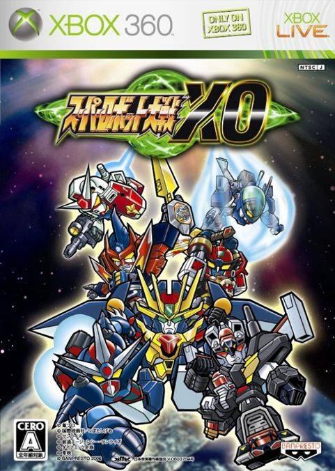 [Game do Mês] - Super Robot Wars XO