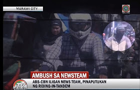 ABS-CBN News team ambushed in Marawi