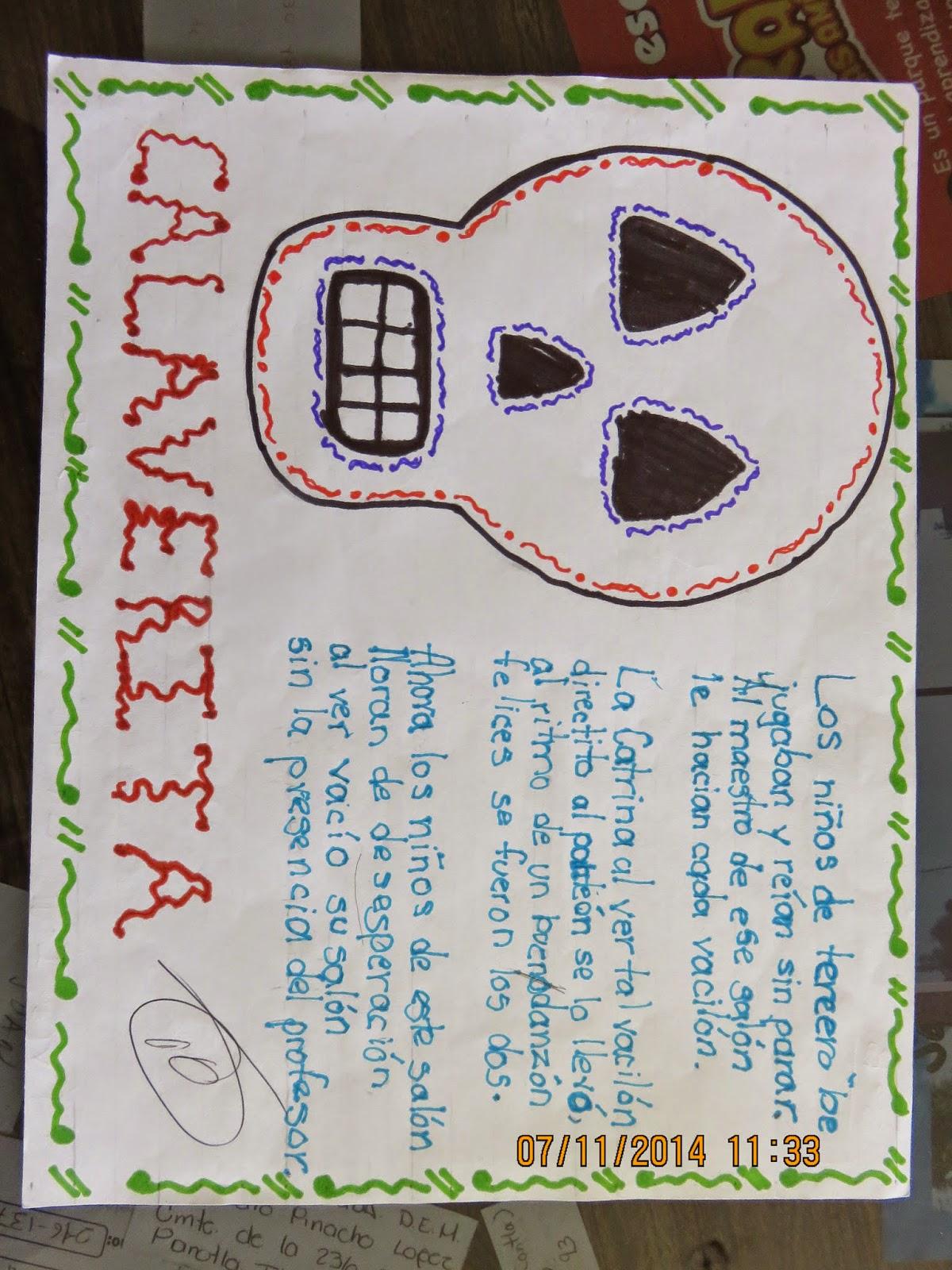 Ejemplos de calaveras literarias for Concurso para maestros