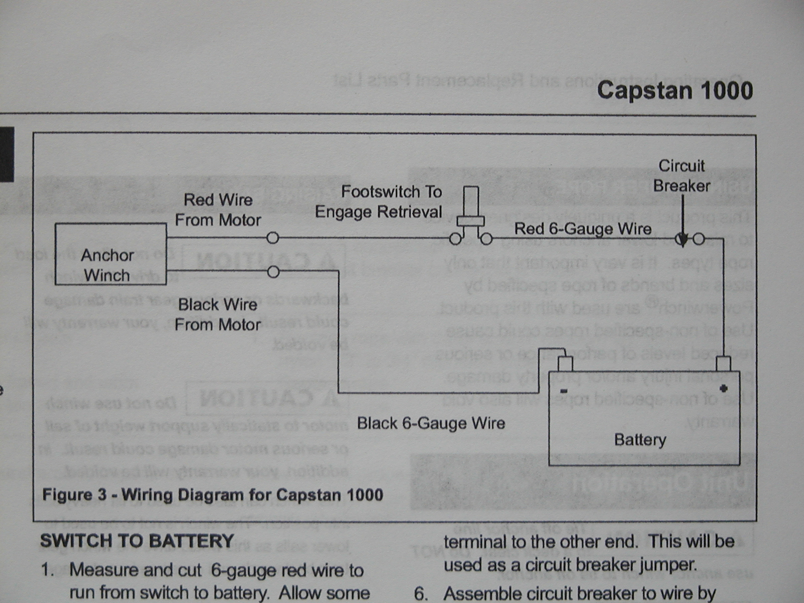 powerwinch wiring diagram