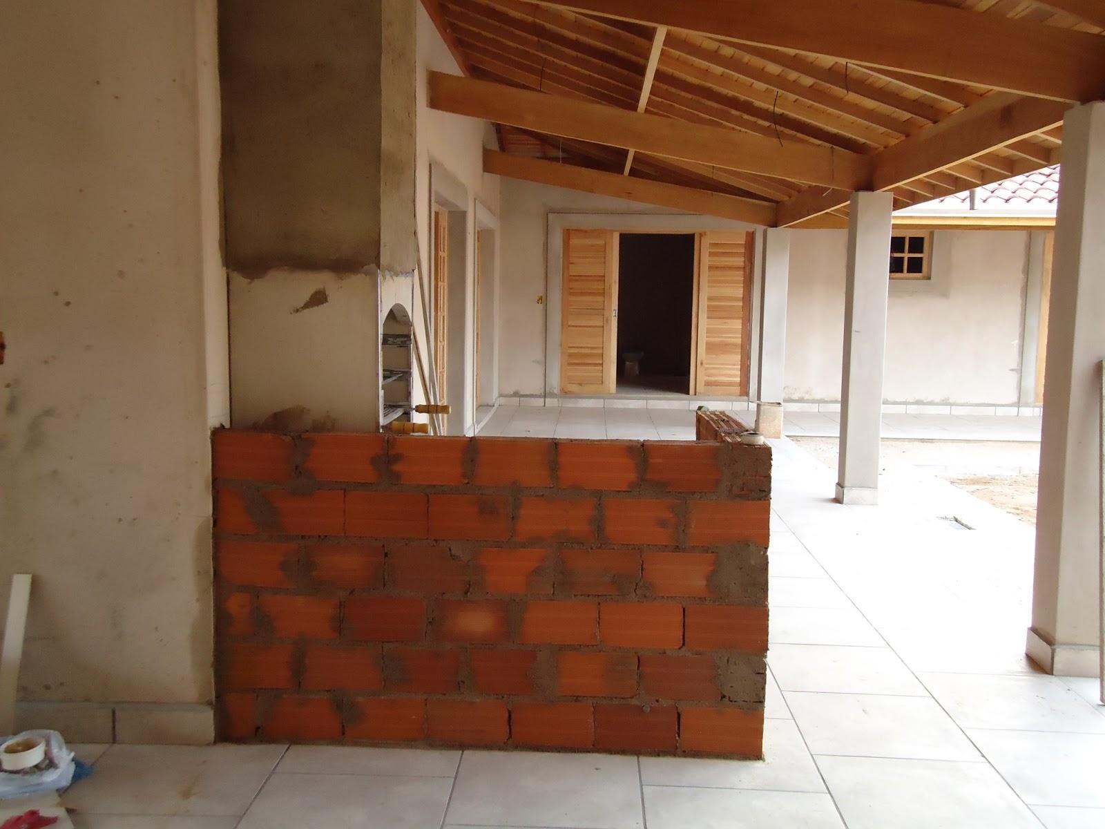 casa n°5: Balcão e Churrasqueira #6C361A 1600x1200 Balcão De Banheiro Leroy Merlin