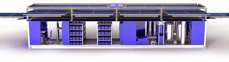 Ecos PowerCube, Contenedor Movil de Energia Solar