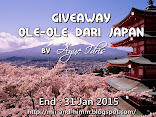 GiveAway Ole-ole dari Japan by Ayue Idris