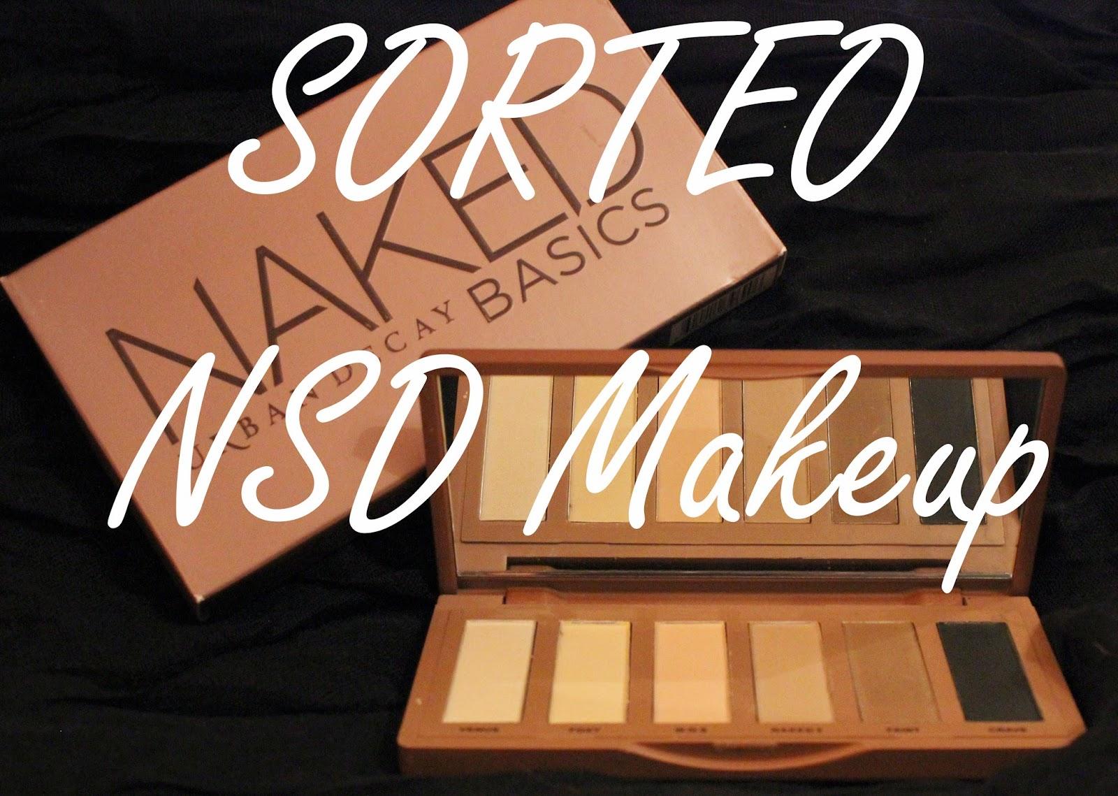 ¡Sorteo en NSD Makeup!