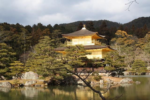 templo Kinkakuji en Kioto
