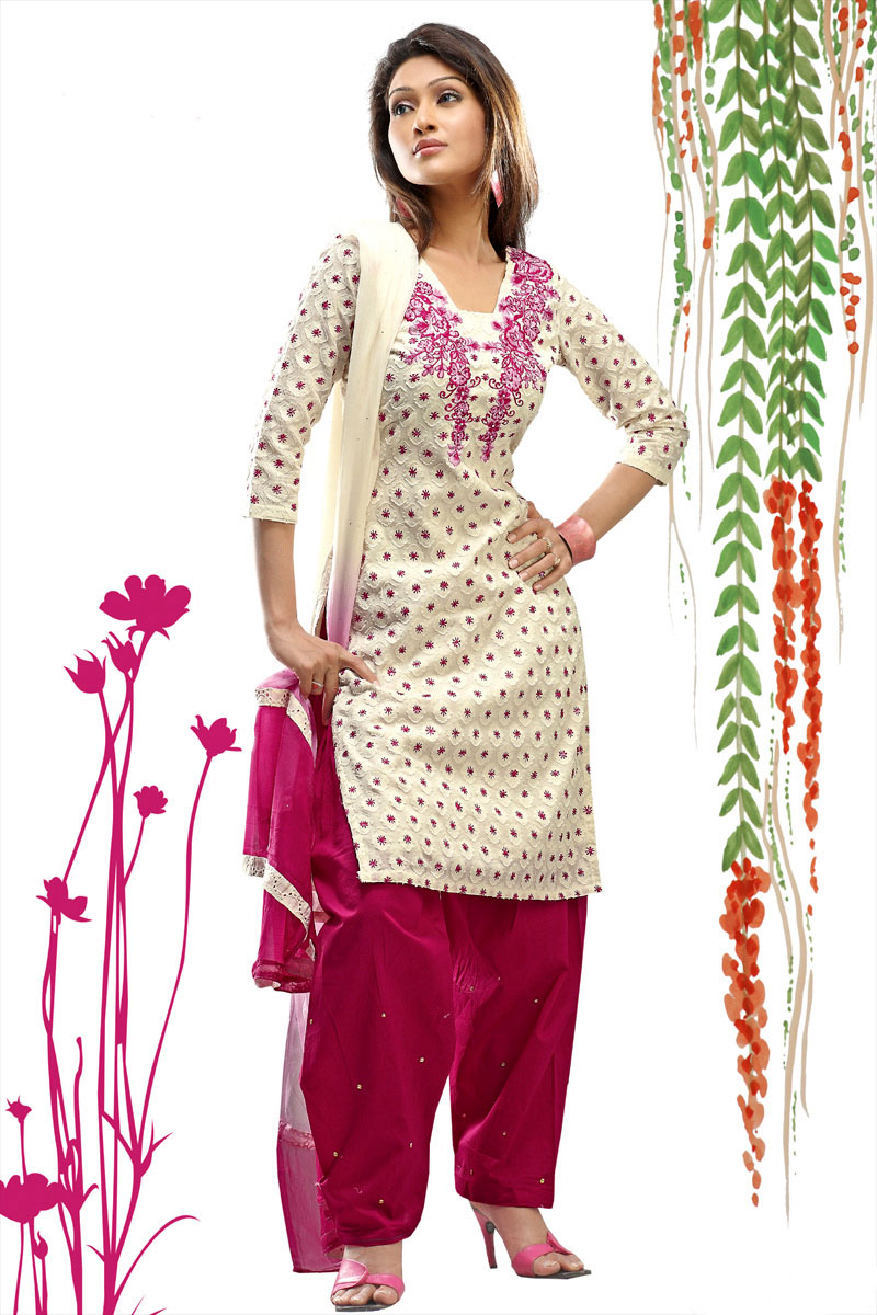 Punjabi Dresses For Girls 2012