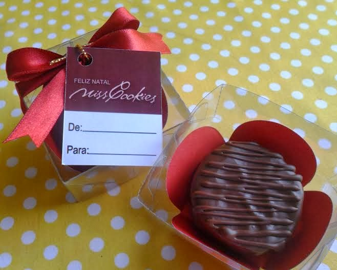 Miss Cookies: Biscoito Recheado