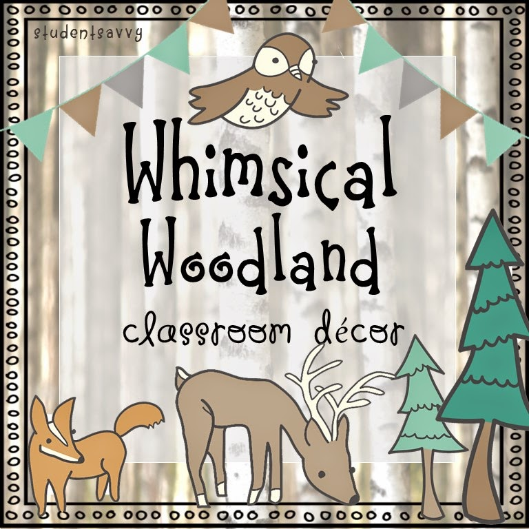 Woodland Classroom Decor ~ Studentsavvy find a decor theme you love