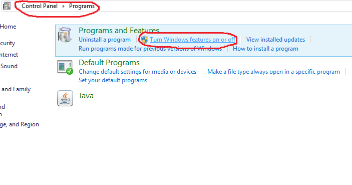 Cara Install Net Framework 3.5 (Included 2.0 and 3.0) di Windows 8 ~ The Secret That Can't Be Told