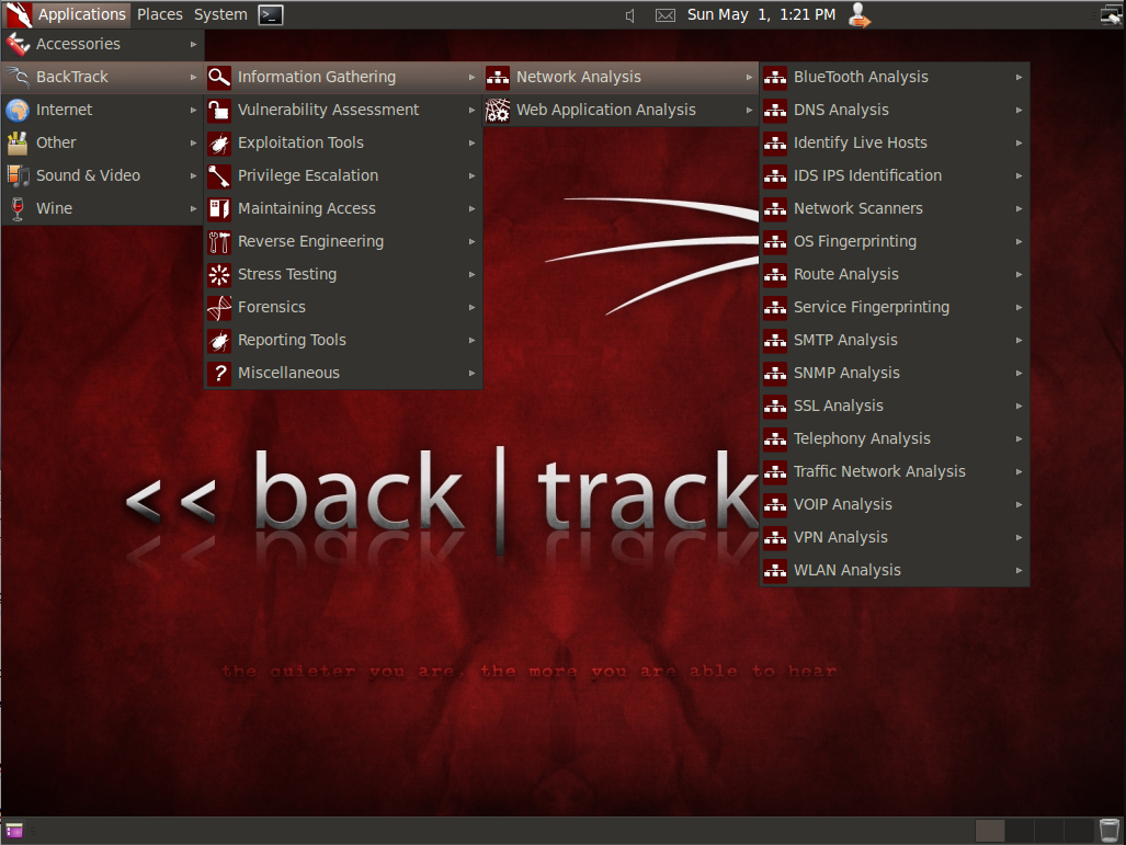 Make bootable live usb of backtrack 5 r3 with yumi 0107