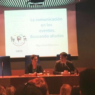 IX Jornadas de Protocolo. UNED Madrid 2015. Olga Casal