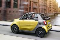 Smart ForTwo Cabrio (2016) Rear Side