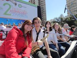 Franco Baldassini en 2º Festival Orq Juveniles Avellaneda