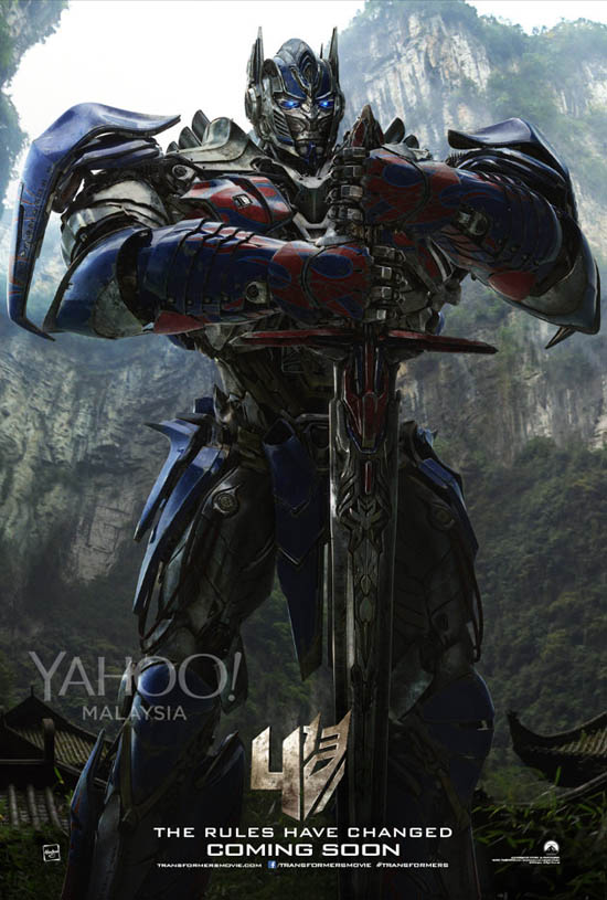 New Optimus Prime 2014