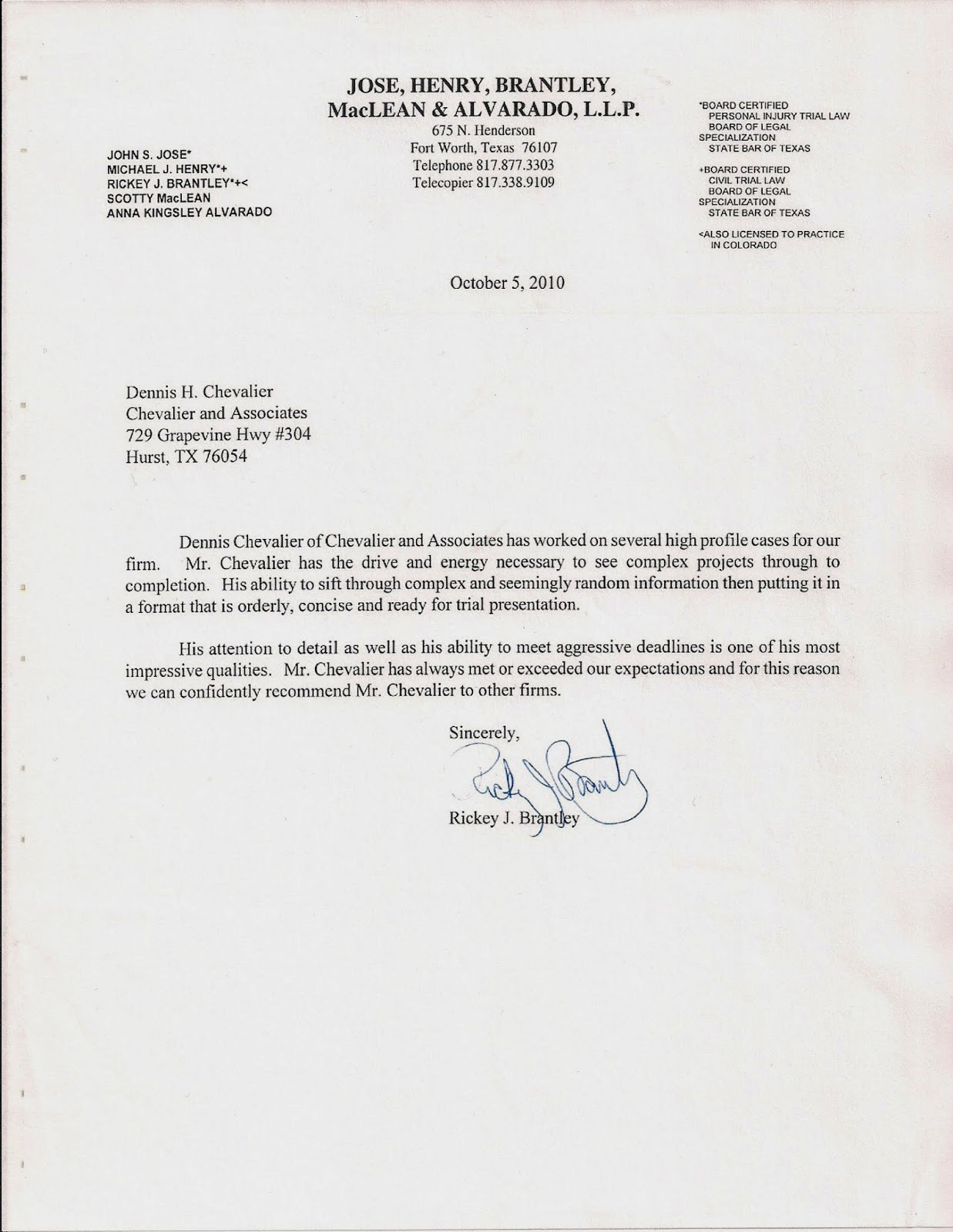 Letter Of Recommendation For Military Service  MaggiLocustdesignCo