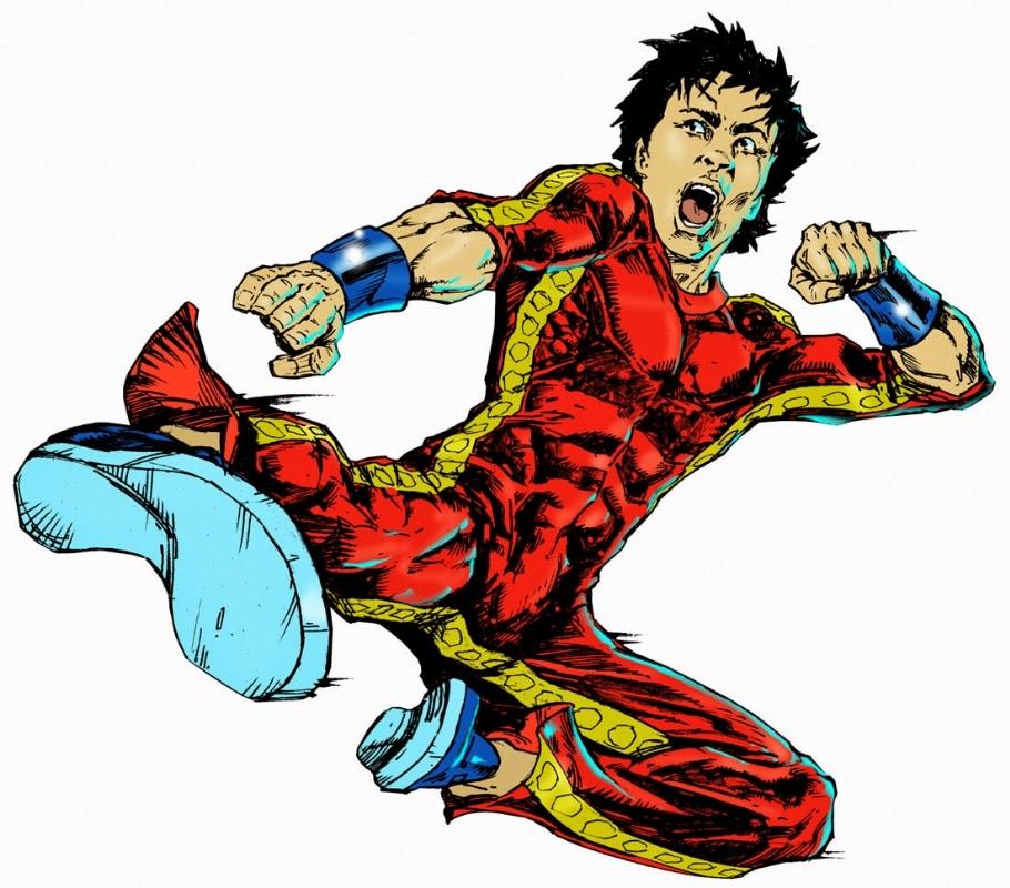 Dibujo de Shang-Chi