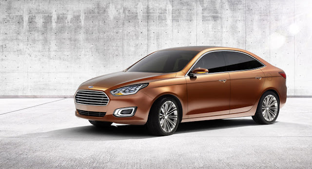 Ford Escort Concept Debuted at Shanghai Auto Show
