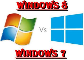 Windows 8 and 7 difference