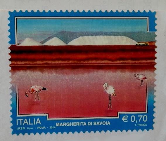 Francobollo dedicato a Margherita di Savoia (BT)