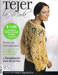 Revista Tejer la Moda №85