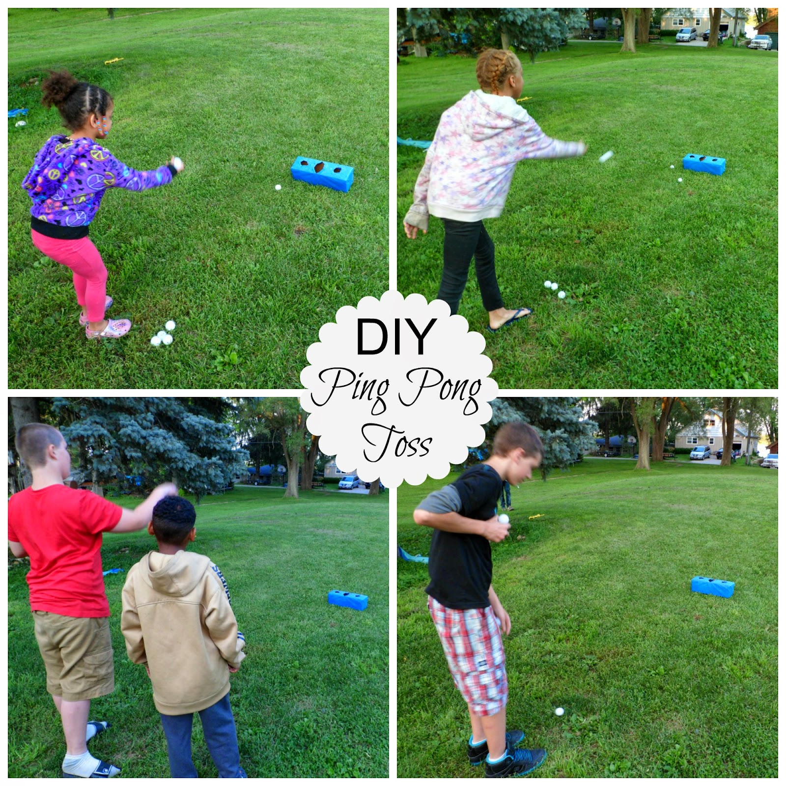 Make Your Backyard Bash A Hit With Diy Games And Snack Mix