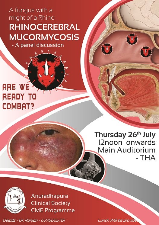 Rhinocerebral Mucormycosis - A Panel Discussion