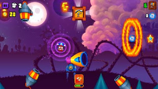 Screenshots of the Galaxy cannon rider for Android tablet, phone.