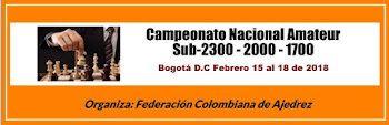 Campeonato Nacional de Ajedrez Amateur Sub-2300, 2000 y 1700 (Dar clic a la imagen)