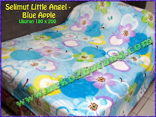 Selimut Little Angel - Blue Apple