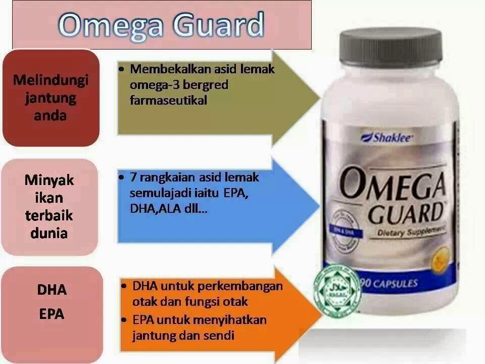 Omega Guard Shaklee Untuk Jantung