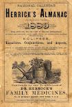 1889<br>Herrick's Almanac