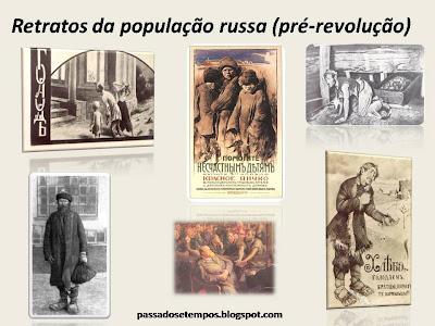 Retratos da Revolução Russa, antes da Revolução