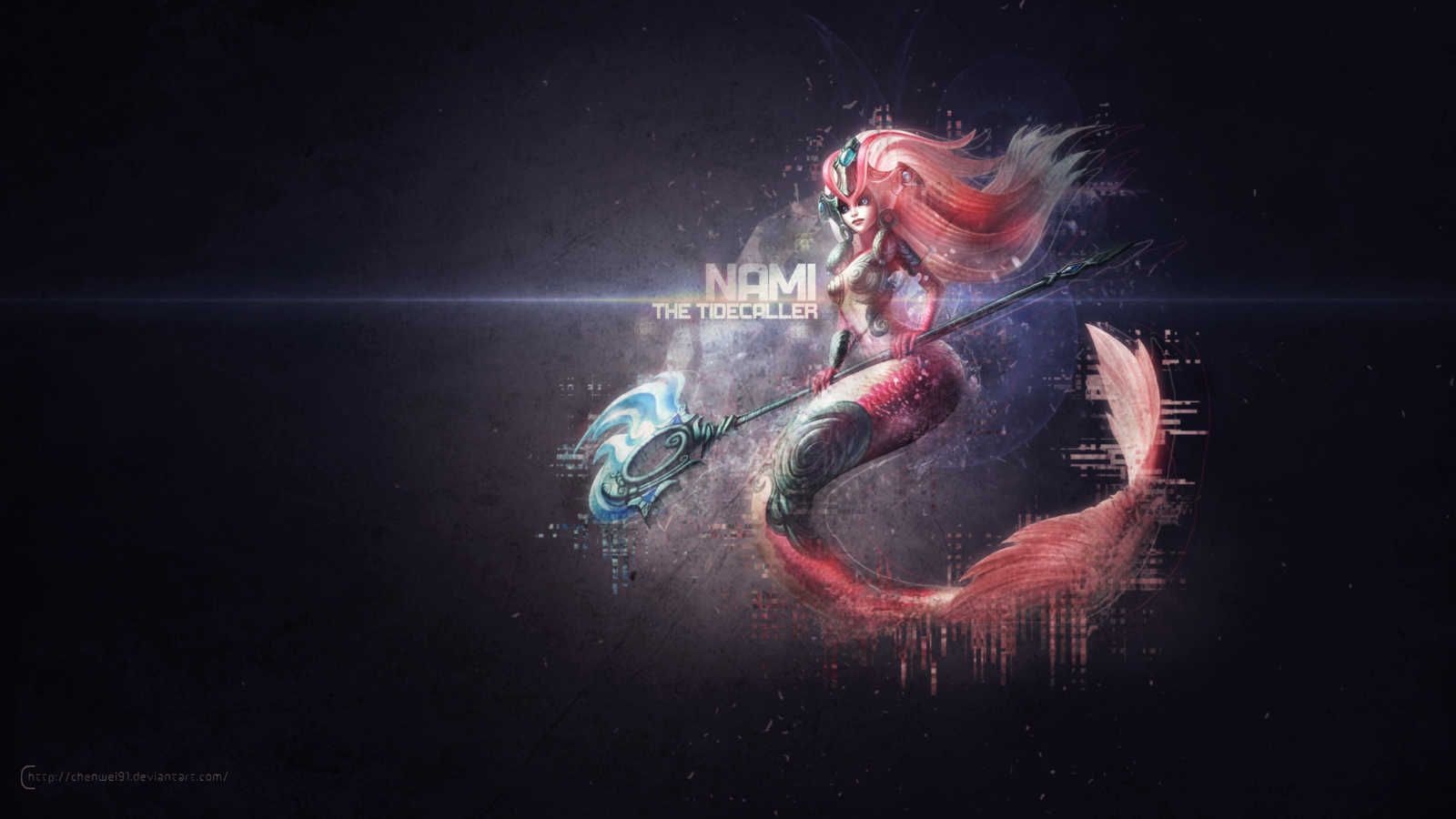 Nami League of Legends Wallpaper