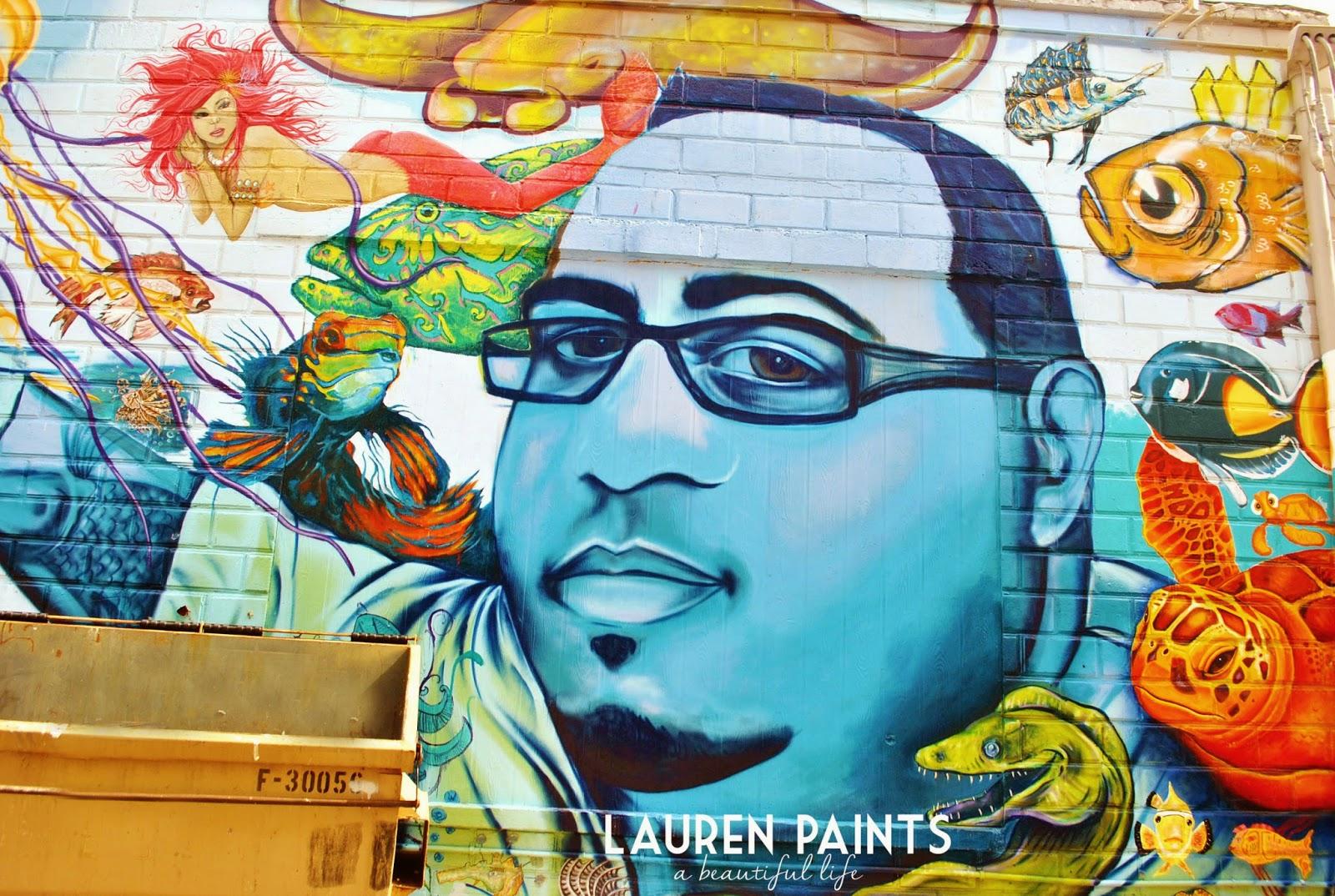 Downtown St Petersburg Florida street art