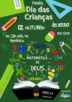 FESTA DAS CRIANÇAS/2017