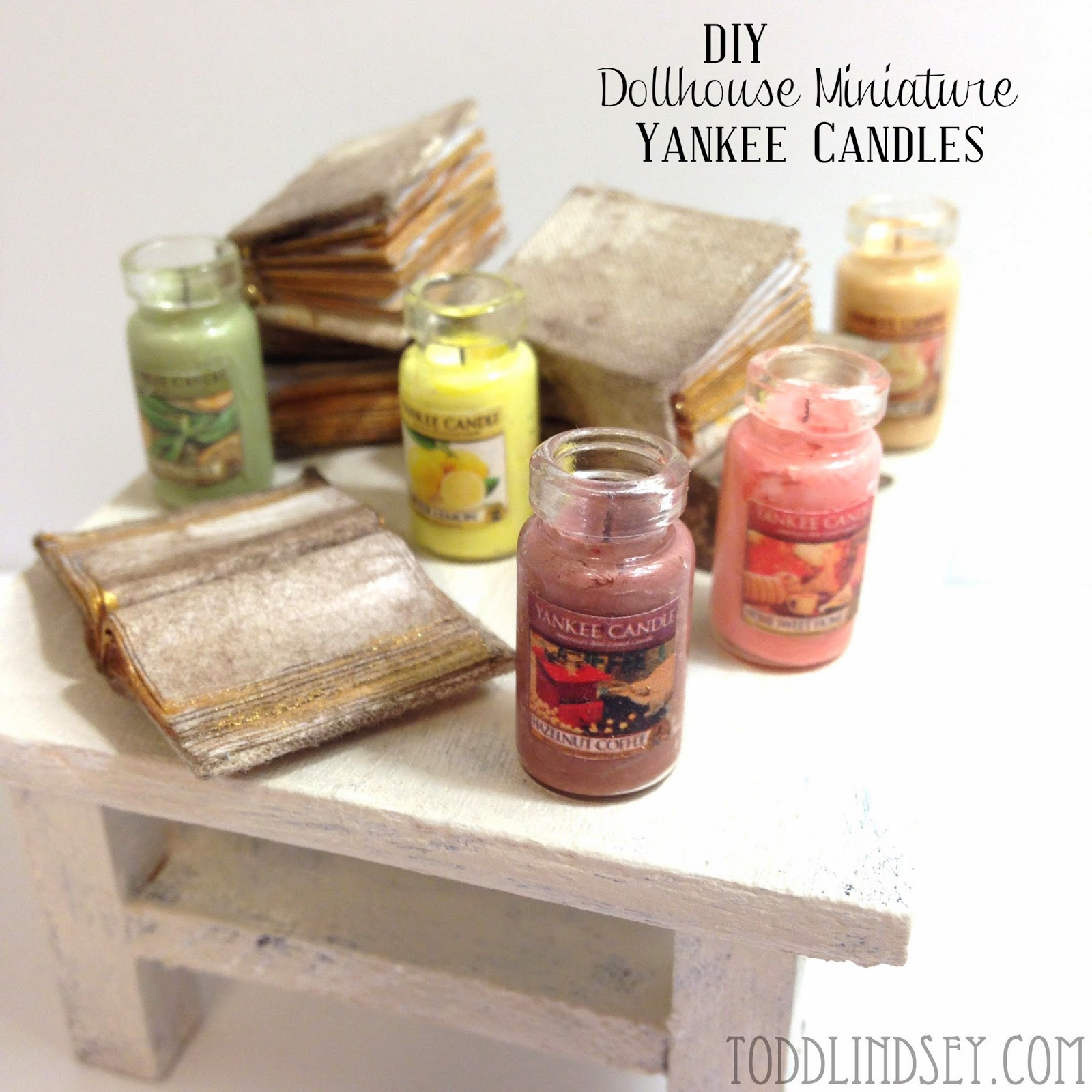 domer home diy dollhouse miniature yankee candles. Black Bedroom Furniture Sets. Home Design Ideas
