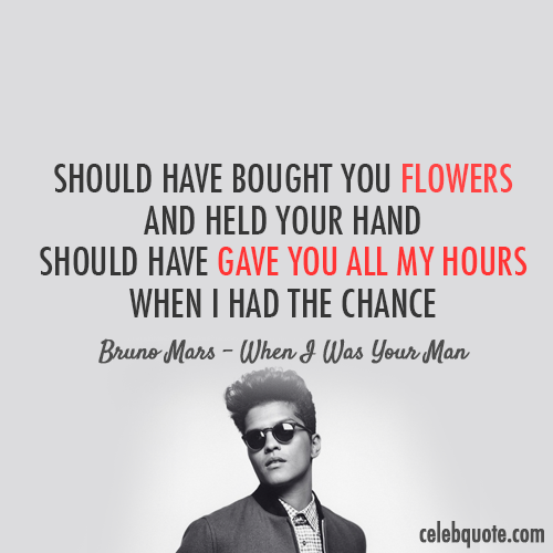 bruno mars quote wall bruno mars quotes quote bruno mars bole nomentsQuotes Bruno Mars